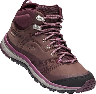 Keen Terradora Leather Mid WP Scarponcino da escursione per donna