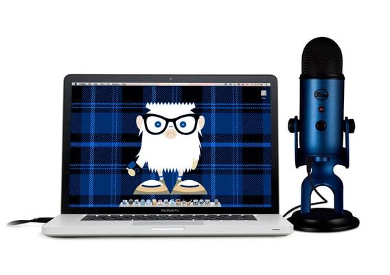 Blue Yeti Microphone Midnight Blue USB microphone
