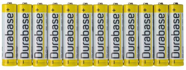 Durabase AAA / LR03 (12Stk.) Batterie