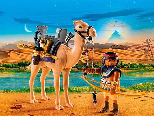 Playmobil History Guerriero egizio con cammello 5389