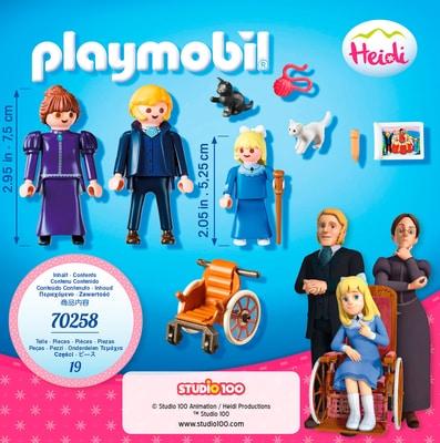Clara avec Père 70258 Playmobil