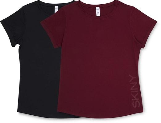 Skiny Pyjama T-Shirt petrol