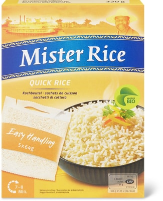 Bio Mister Rice Quick rice parboiled