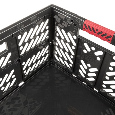 keeeper Contenitore pieghevole professionale con manici soft 45L