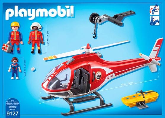 Playmobil Action Elicottero soccorso alpino 9127