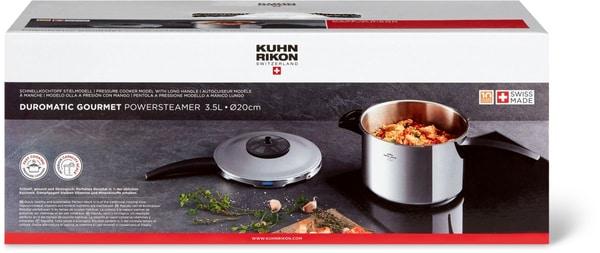Kuhn Rikon Swiss Duromatic Schnellkochtopf Gourmet