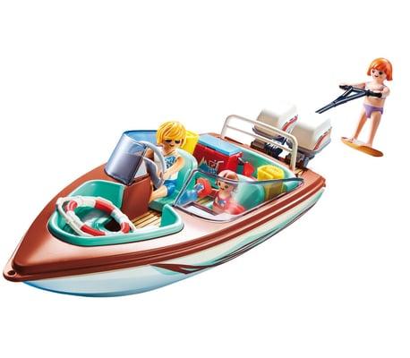 Playmobil Motoscafo con sci d'acqua
