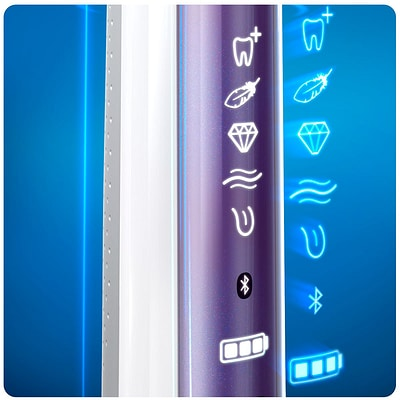 Oral-B Genius 10100s lila Elektrische Zahnbürste