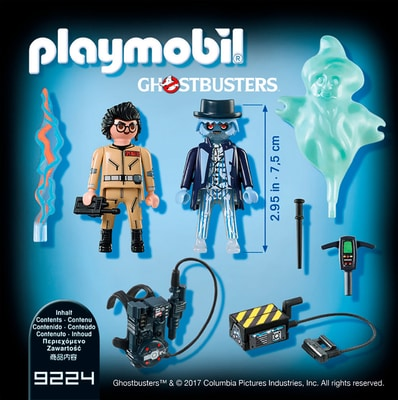 Playmobil Ghostbusters Spengler e il Fantasma 9224
