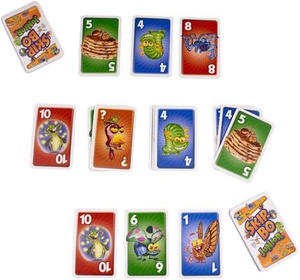 Mattel Games Skip-Bo Junior Gesellschaftsspiel