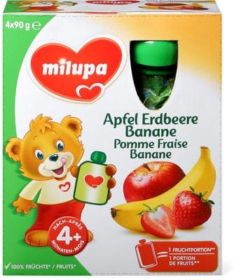 Milupa Gourdes de fruits Pomme Fraise Banane