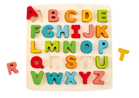 Hape Puzzle Dell'Alfabeto A Pezzi Grossi Puzzle