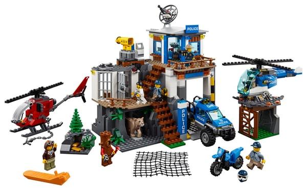 Lego City 60174 Quartier Polizia