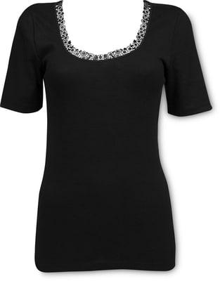 Damen Shirt schwarz
