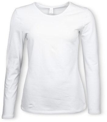 Shirt Thermo à manches longues pour femme ecru