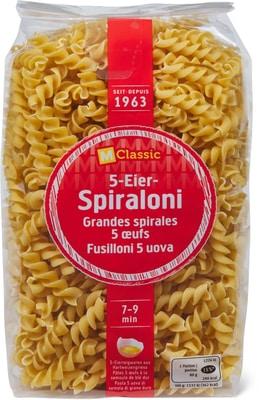 M-Classic 5Eier-Spiraloni