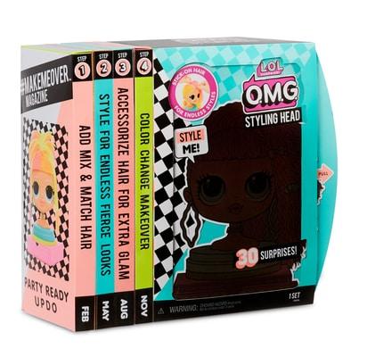 L.O.L. OMG Styling Head pelle chiara Bambola gioco