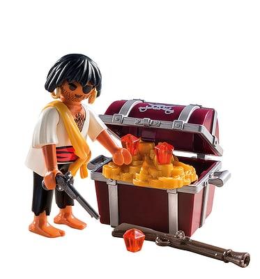 Playmobil Pirate avec coffre au trésor