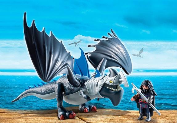 Playmobil Dragons Drago con Artigliotonante corazzato 9248
