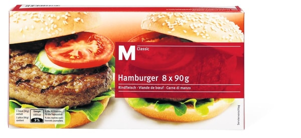 M-Classic Hamburger boeuf