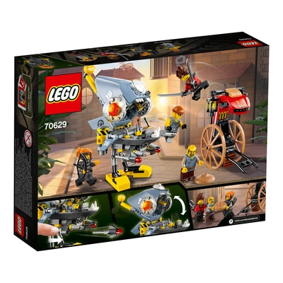 Lego Ninjago 70629 L'attaque Des Prianha