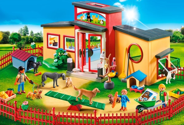 Playmobil Pension des animaux 9275