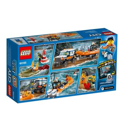 Lego City Unità di risposta con il fuoristrada 4x4 60165