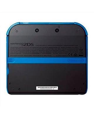 Nintendo 2DS Black inkl. New Super Mario Bros. 2