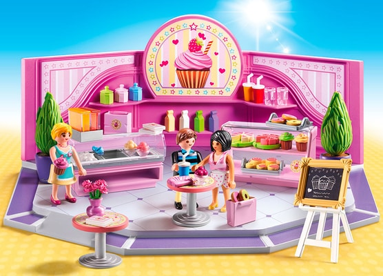 "Playmobil City Life Café ""Cupcake"" 9080"