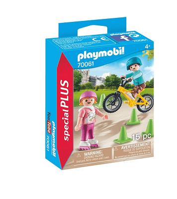 PLAYMOBIL 70061 Enfants avec vélo