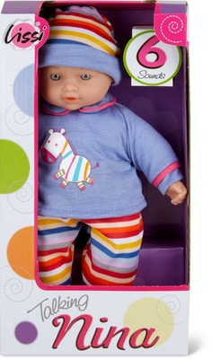 Lissi Dolls Sprechendes Baby Mit 6 Sound Puppe