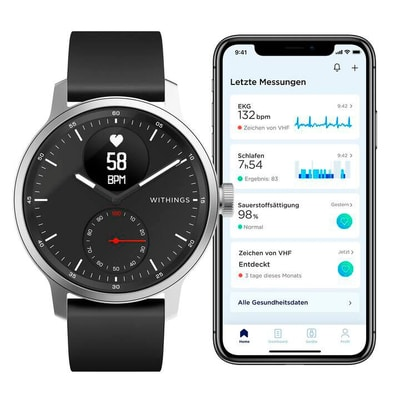 Withings Scanwatch 42mm/Black Smartwatch | Migros