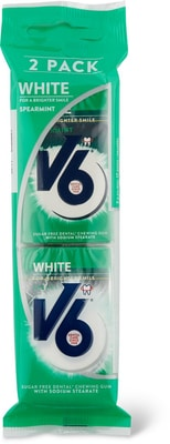 V6 Dental White Spearmint