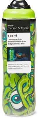 Cucina & Tavola Leucht-Trinkflasche Brain 0.6L