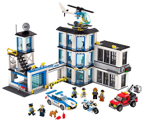 Lego City Stazione di Polizia 60141