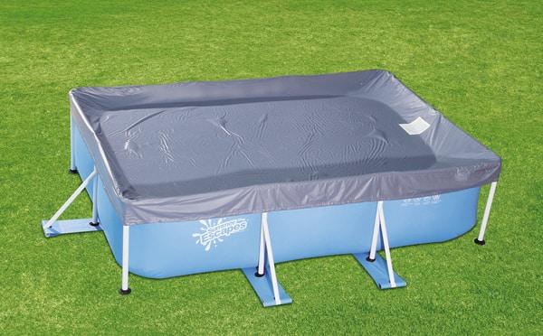 summer waves abdeckplane zu stahlrohrbecken eckig migros. Black Bedroom Furniture Sets. Home Design Ideas