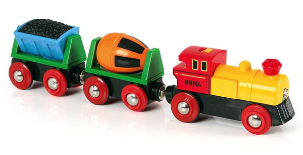 BRIO Train de marchandise avec lumière (FSC)
