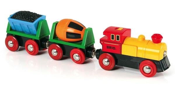 BRIO Treno con locomotiva a pile (FSC)