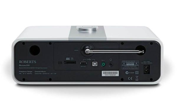 Roberts BluTune 200 - Bianco Micro HiFi System