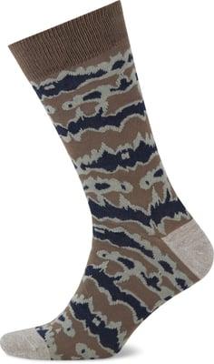 John Adams Calze da uomo Camouflage 2 paia