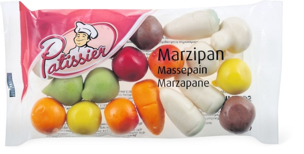 Patissier Marzipan Gemüse