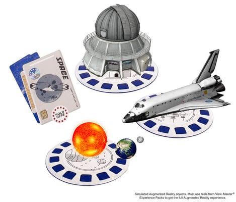 View-Master Erweiterungspack Weltraum (D)