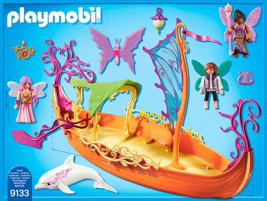 Playmobil Fairies Romantisches Feenschiff 9133