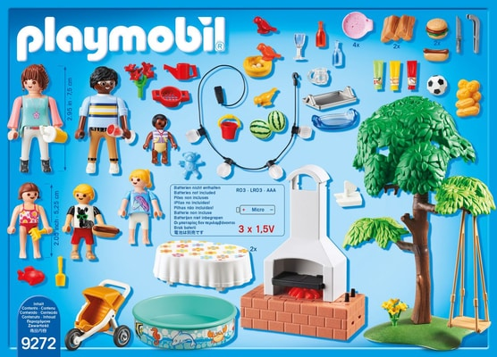 Playmobil City Life Famille et barbecue estival 9272