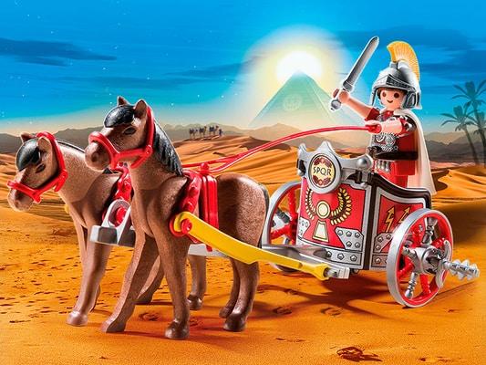 Playmobil History Char romain avec tribun 5391