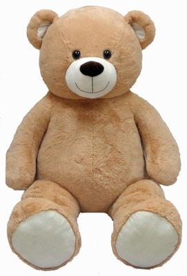 Beige beer van 175 cm