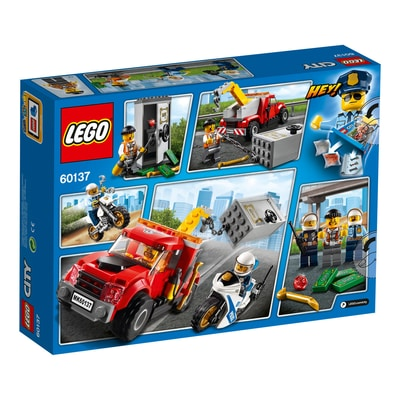 LEGO City Autogrù in panne 60137