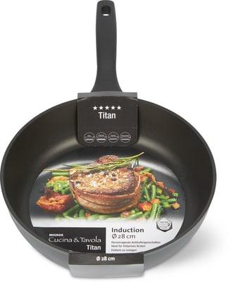 Cucina & Tavola TITAN Bratpfanne 28cm high