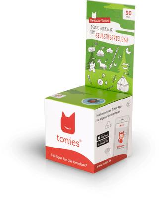 Tonies Hörbuch Kreativ-Tonie - Kreativ-Tonie Ritter (DE)