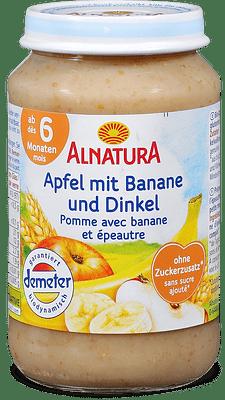 Alnatura - Mela con banana e spelta